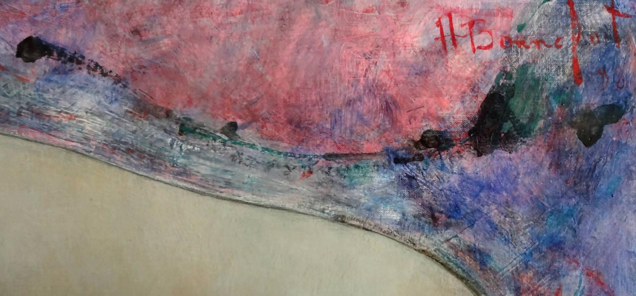 Rose - Impressionist Painting by Alain Bonnefoit