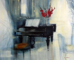 The Red Stool (Le Tabouret Rouge (Piano))