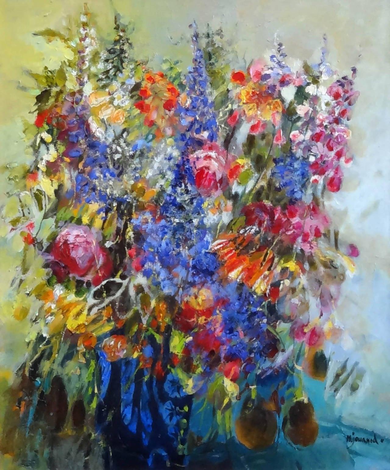 Monique journod composition florale at 1stdibs for Composition florale