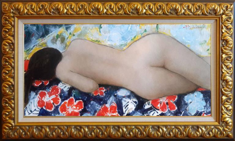 Daisy - Painting by Alain Bonnefoit