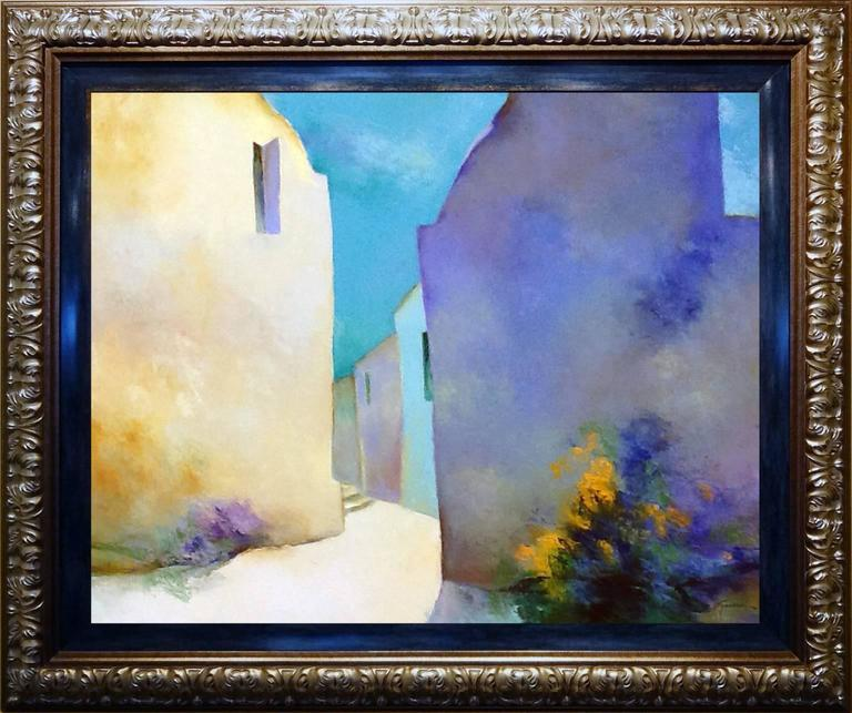 A L'Ombre (In the Shade) - Modern Painting by Claude Gaveau