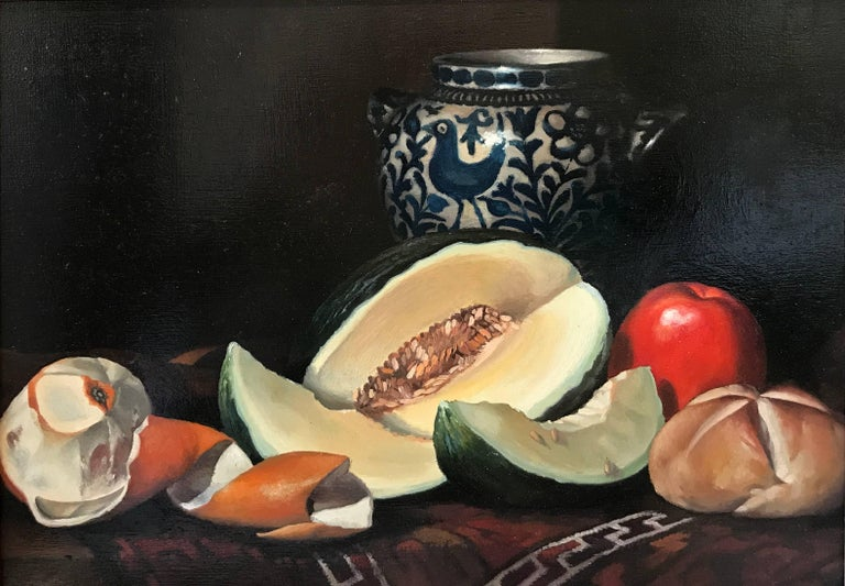 Jean Grimal Still-Life Painting - NATURE MORTE POTERIE