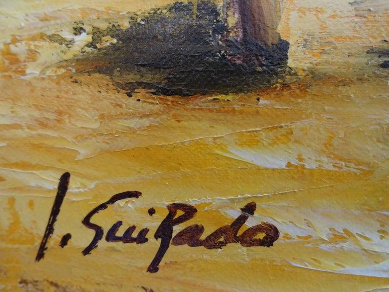 Salade et Framboises - Impressionist Painting by Alain Guirado