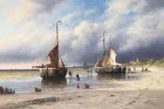 Working on the Dutch Coastline