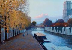 Autumn Evening in Paris
