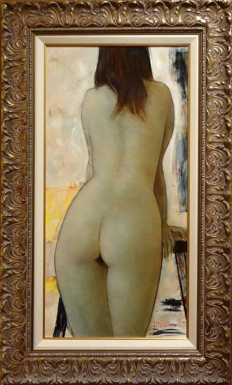 Vicky - Painting by Alain Bonnefoit