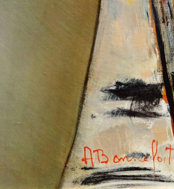 Vicky - Impressionist Painting by Alain Bonnefoit