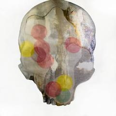Tanatos III, Contemporary Art, Oli and Mixed on Canvas, México