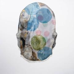 Tanatos VII, Contemporary Art, Oil and Mixed on Canvas, México