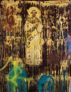 Estandarte III, Contemporary Art, Oil on Canvas, México