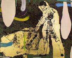 Torero XVI, Contemporary Art, Oil on Canvas, México