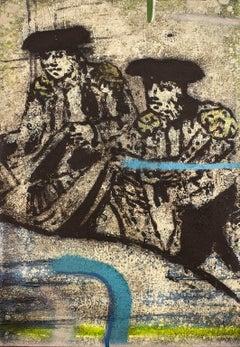 Torero XXVI, Contemporary Art, Oil on Linen, México