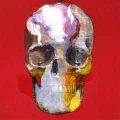 Tanatos XLIII, Contemporary Art, Oil and Mixed on Canvas, México