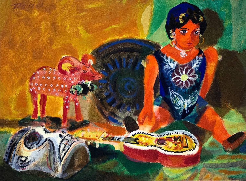 romeo villalva tabuena mexican toys modern art acrylic