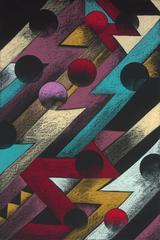 "Painting on Paper ""Flux Flow"""