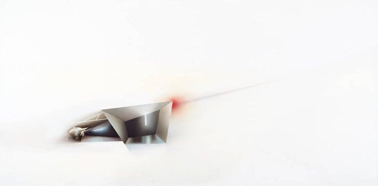 Magalie Comeau Abstract Painting - Signifiant non antérieurement défini