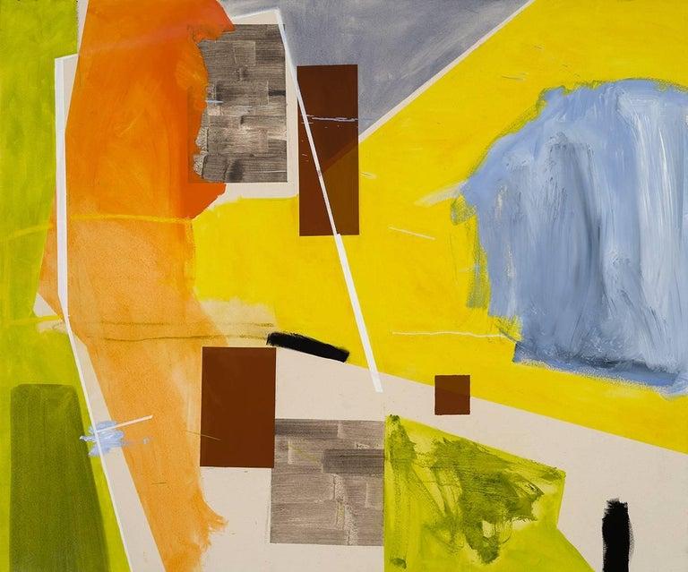 Trevor Kiernander Abstract Painting - Burn Up
