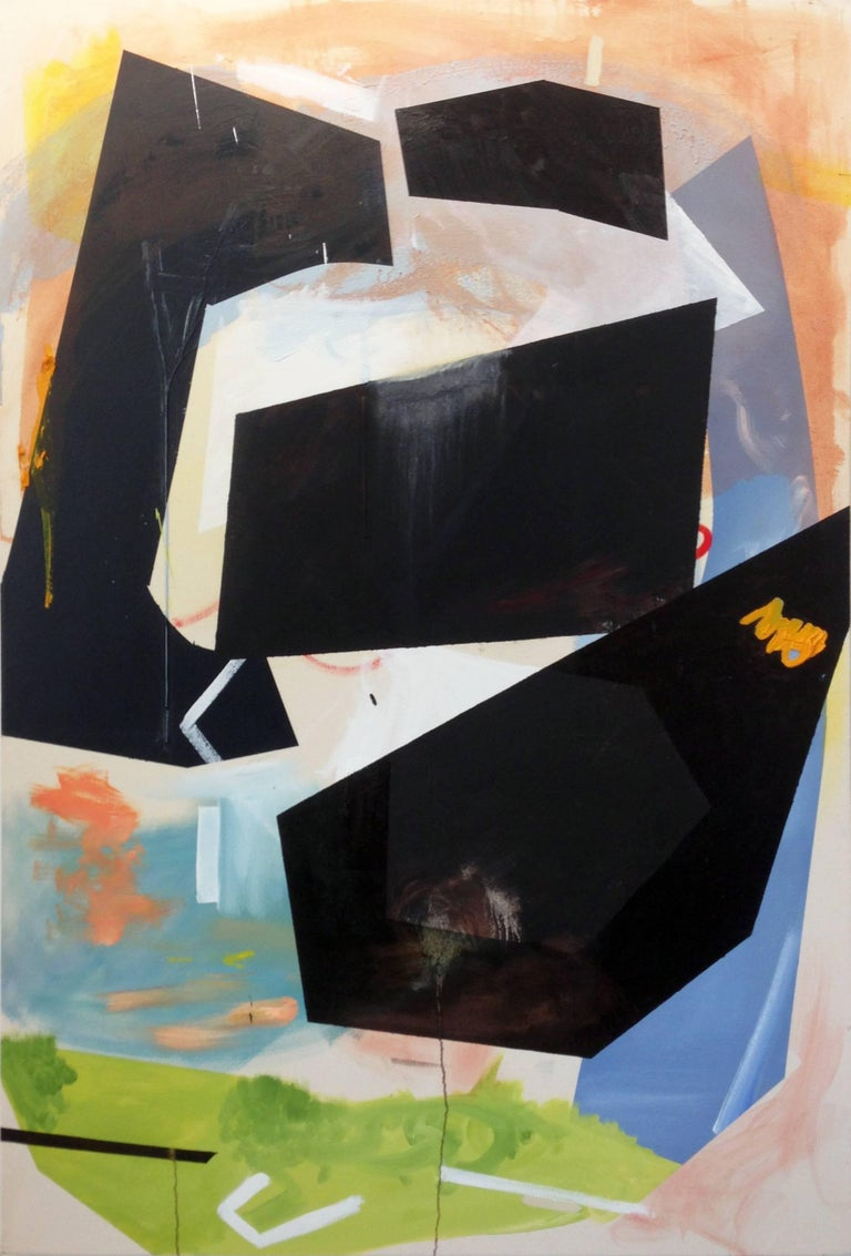 Trevor Kiernander Abstract Painting - Spare Me Over Just Another Year