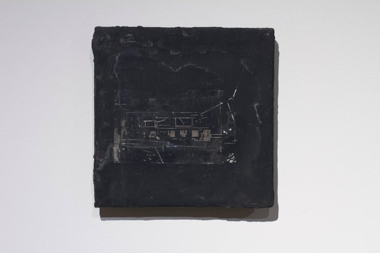 Simon Bilodeau Abstract Painting - Ce qu'il reste du monde #3