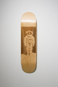Dead Astronaut from the series Skateboard Deck