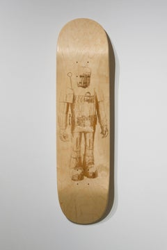 Iron Man from the series Skateboard Deck,