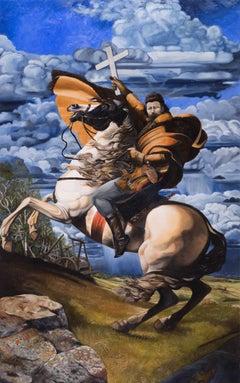 Louis David Riel (after Jacques Louis David)