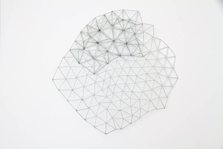 Colleen Wolstenholme Abstract Sculpture - Multiply Connected Triangle II