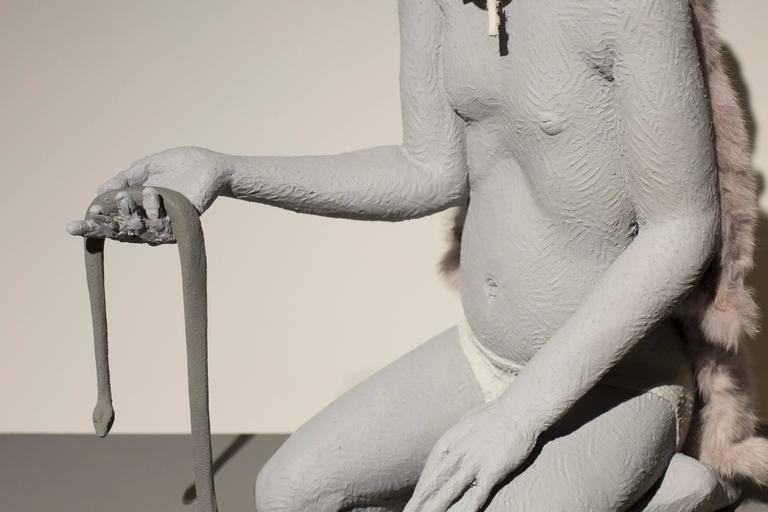 Predator, Prey & Victim - Contemporary Sculpture by Nicholas Crombach
