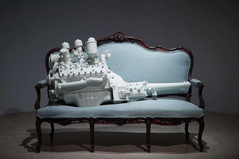 Three Deuce's - Sculpture by Clint Neufeld