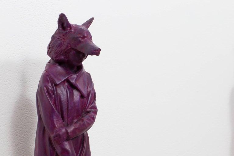 Love Louve Camille - Contemporary Sculpture by Jean-Robert Drouillard