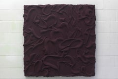 Turbulent Plum Wall Relief