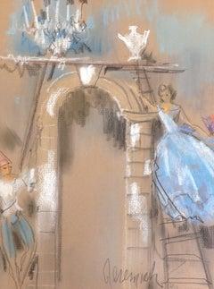 Romantic Drawings and Watercolor Paintings