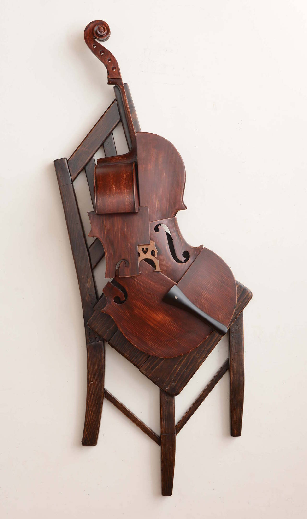 Koji Takei Cello and Chair 1 Sculpture at 1stdibs