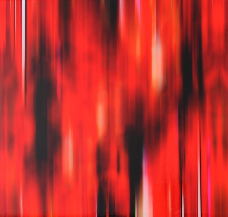 Temporarily Like a Concerto Only It's Red - Mixed Media Art by Michel Tabori