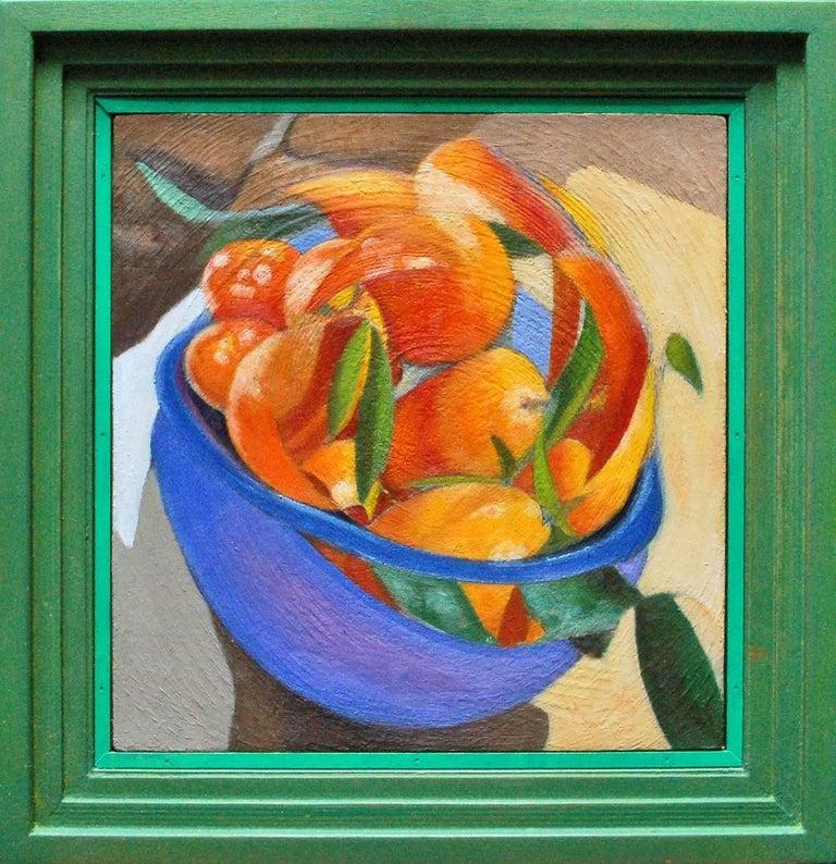 Mikel Alatza Still-Life Painting - Fruit Bowl #2