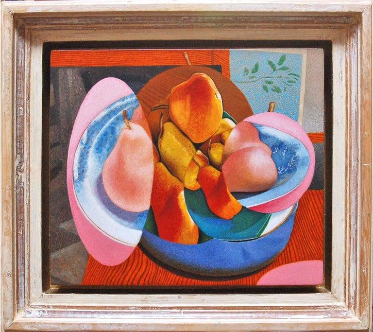 Mikel Alatza Still-Life Painting - Fruit Bowl #5