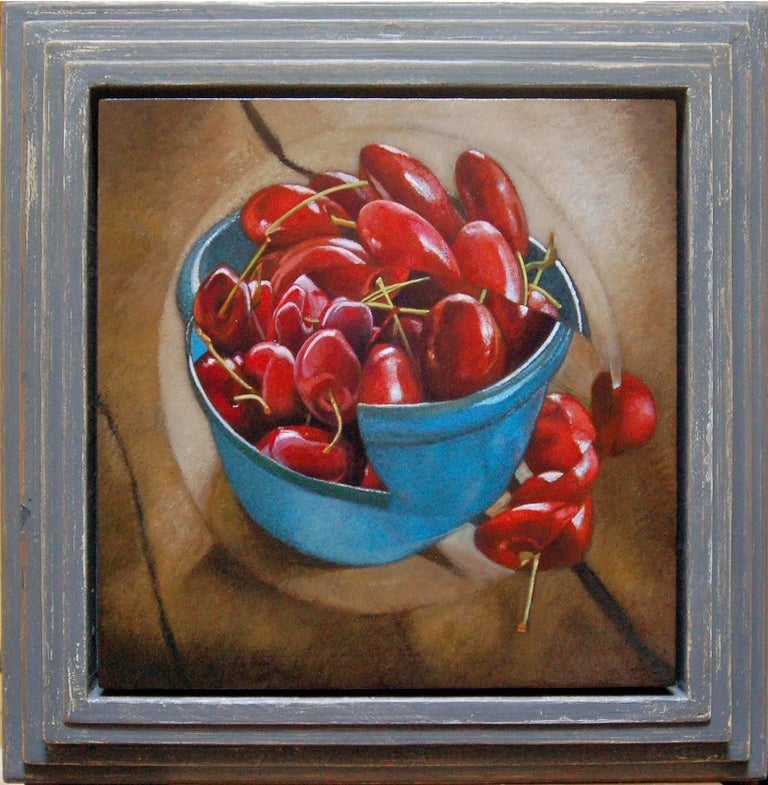 Mikel Alatza Still-Life Painting - Fruit Bowl #6