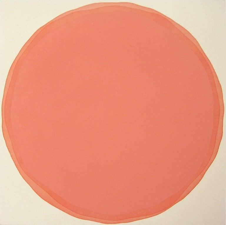 Dawn Arrowsmith Abstract Painting - Orange Way