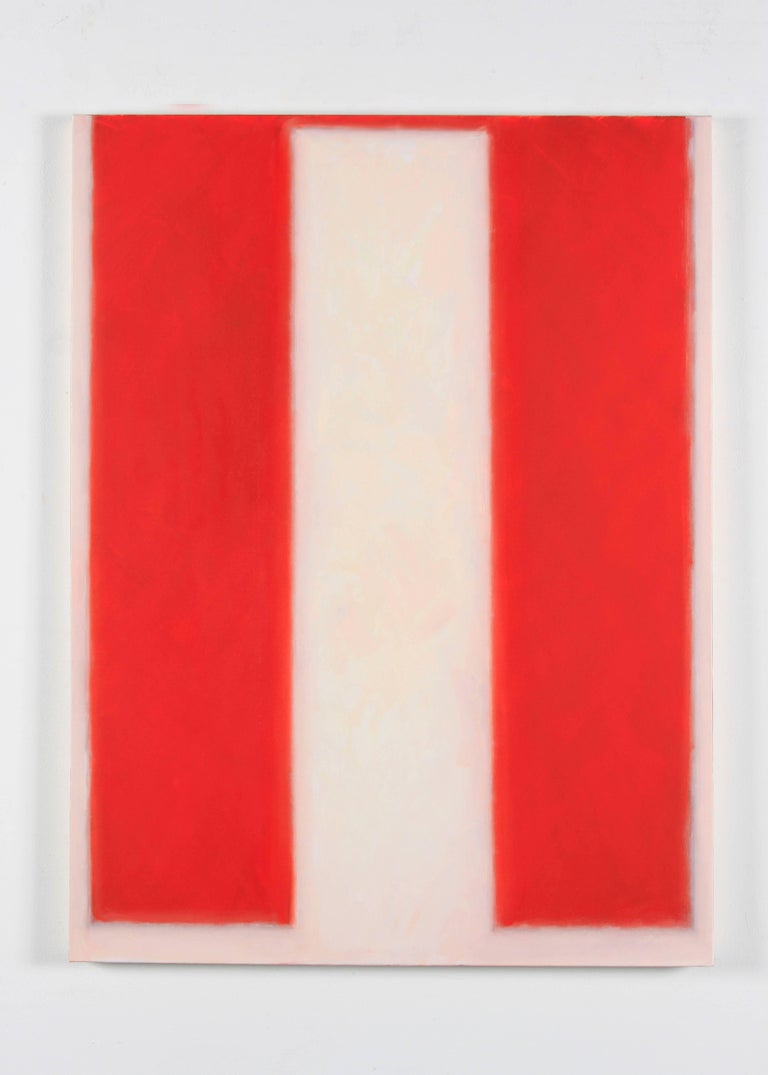 Vermillion #2 - Painting by Peter Lodato