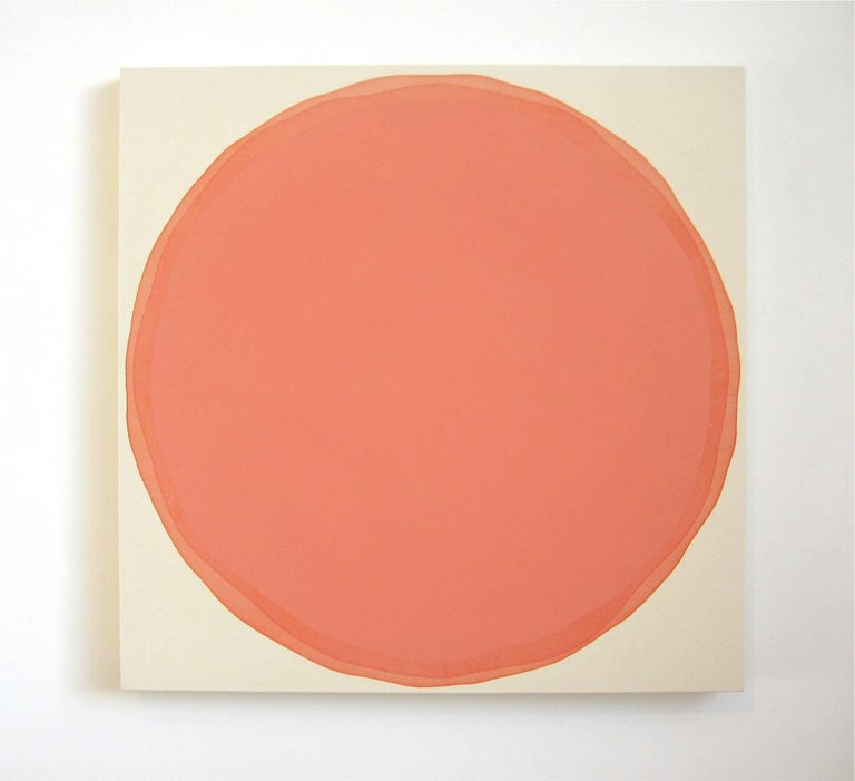 Orange Way - Painting by Dawn Arrowsmith