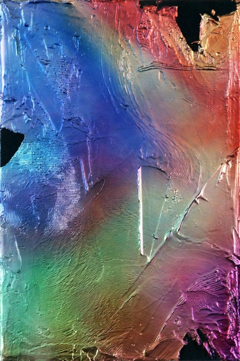 Jimi Gleason Abstract Painting - Rainbow Bridge
