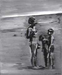 Drive - By Memories: Grandma at the Beach with the Kids