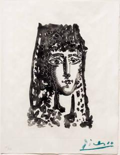 Femme a la Mantille: Carmen, from Le Carmen des Carmen