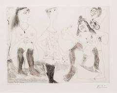 Degas Songeant Filles Entre Elles