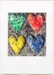 Jim Dine - Watercolor in Galilee
