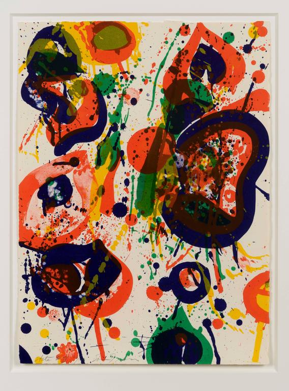 Sam Francis Untitled From The Pasadena Box Print For