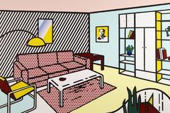 Roy Lichtenstein - Modern Room