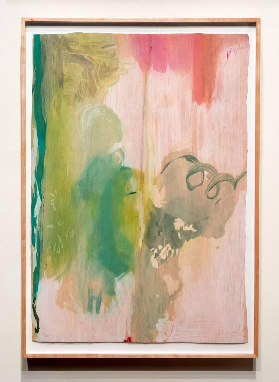 Snow Pines - Contemporary Print by Helen Frankenthaler
