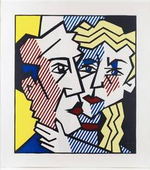 Roy Lichtenstein - The Couple, from the Expressionist Woodcut Series