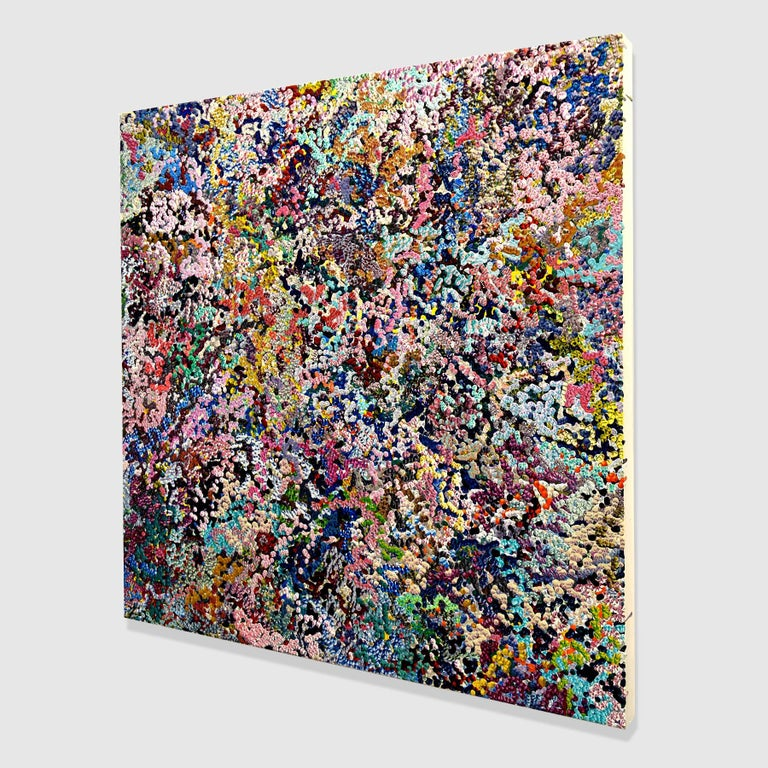 2nd Amalgamation - Abstract Painting by Gregory Hayes